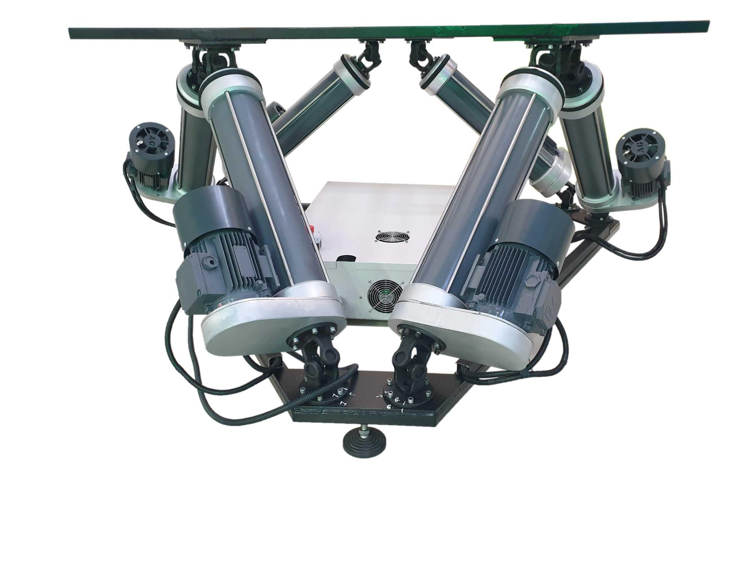 6Dof_1 Full motion simulator 2dof, 3dof,4dof,6dof motion platform