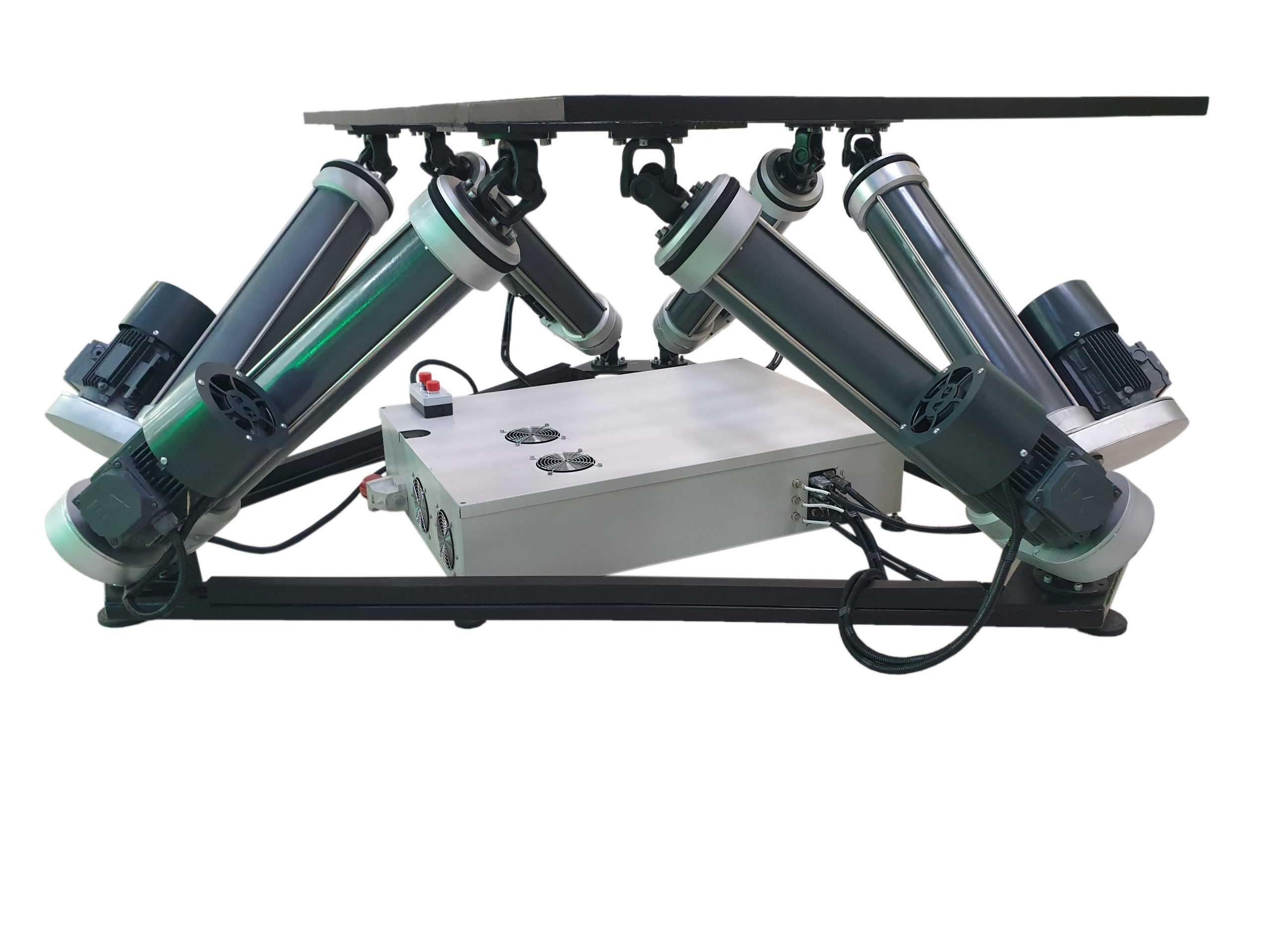 6Dof_2 Full motion simulator 2dof, 3dof,4dof,6dof motion platform