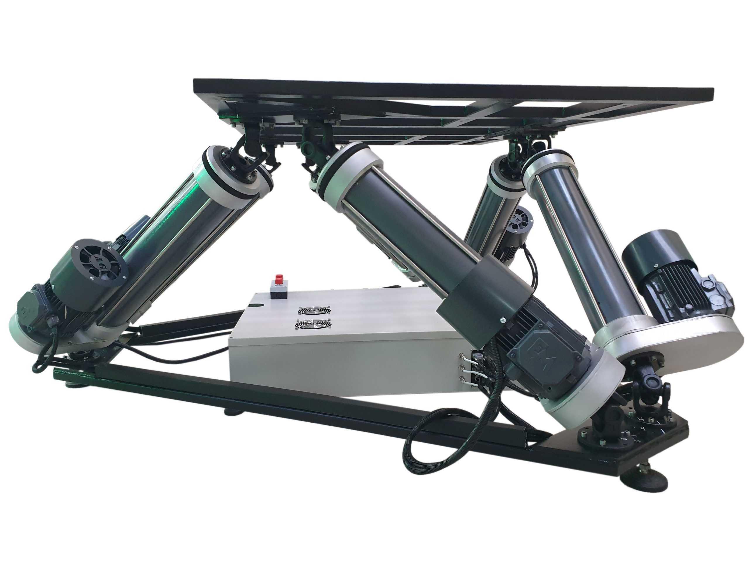 6Dof_3 Full motion simulator 2dof, 3dof,4dof,6dof motion platform