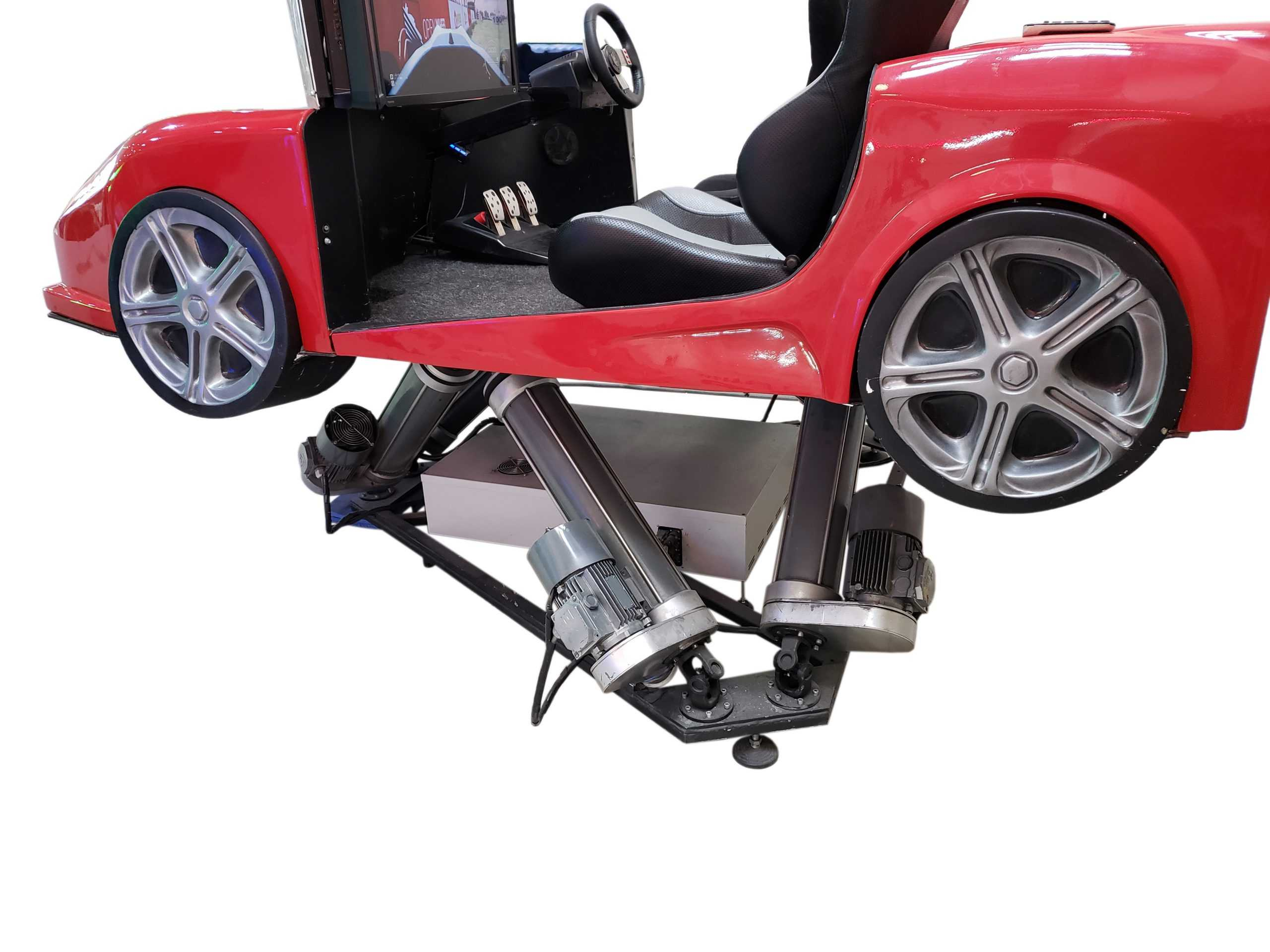 Ferrari_1 Full motion racing simulator 2dof, 3dof,4dof,6dof motion platform