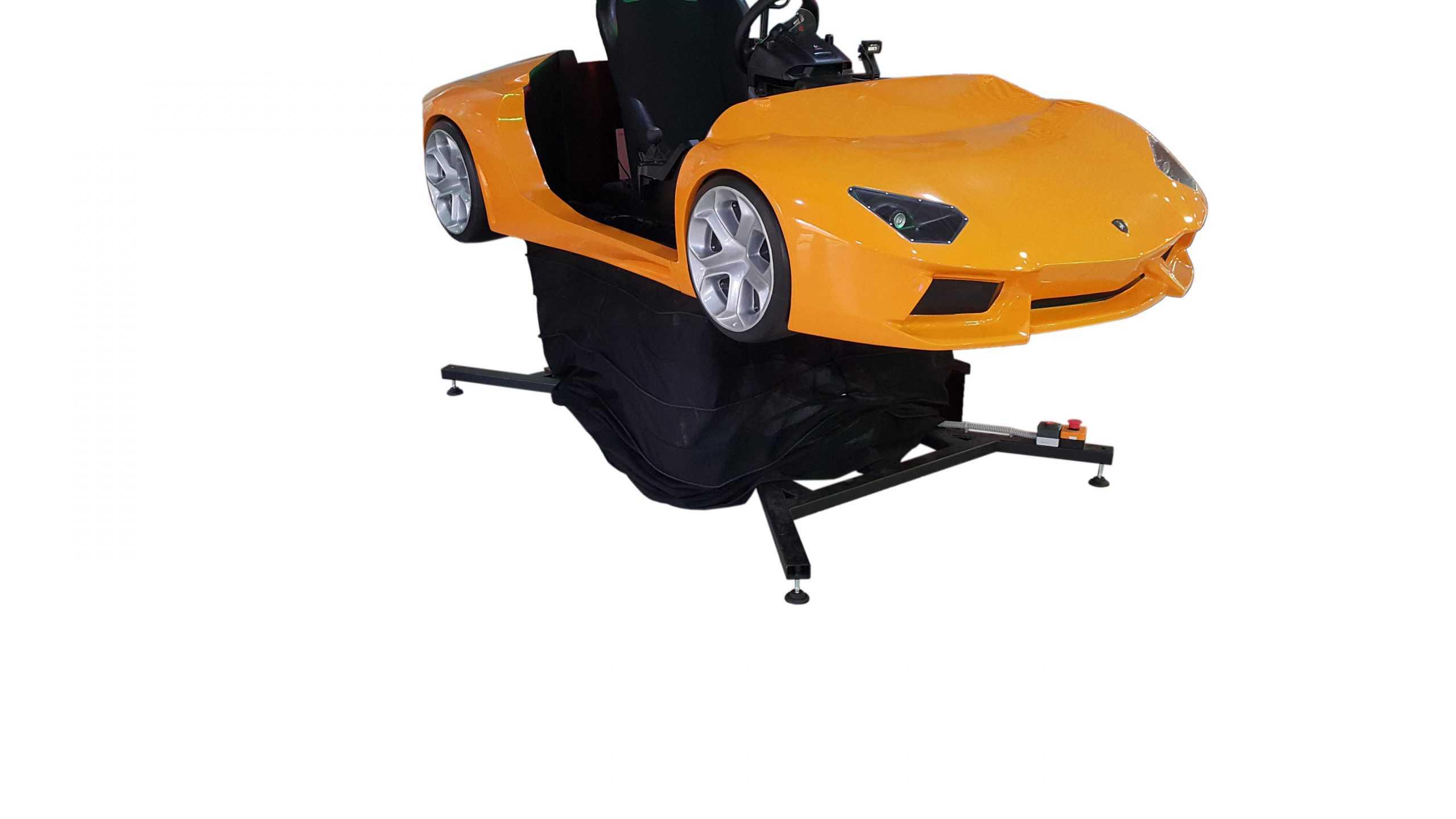 Lambo_2 Full motion racing simulator 2dof, 3dof,4dof,6dof motion platform