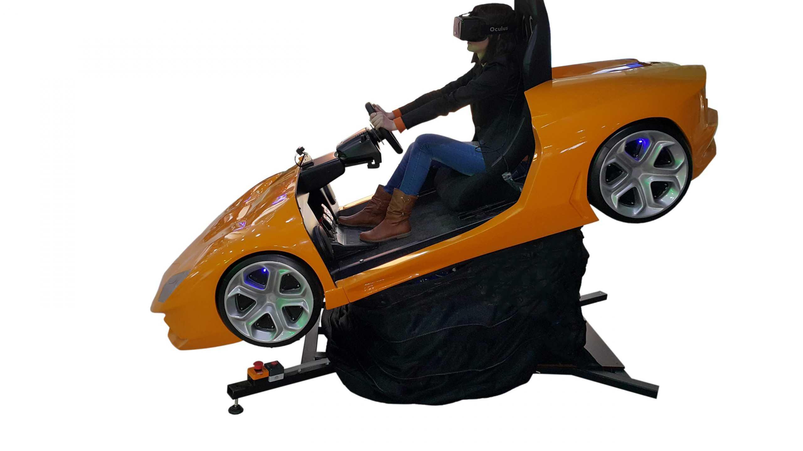 Lambo_3 Full motion racing simulator 2dof, 3dof,4dof,6dof motion platform