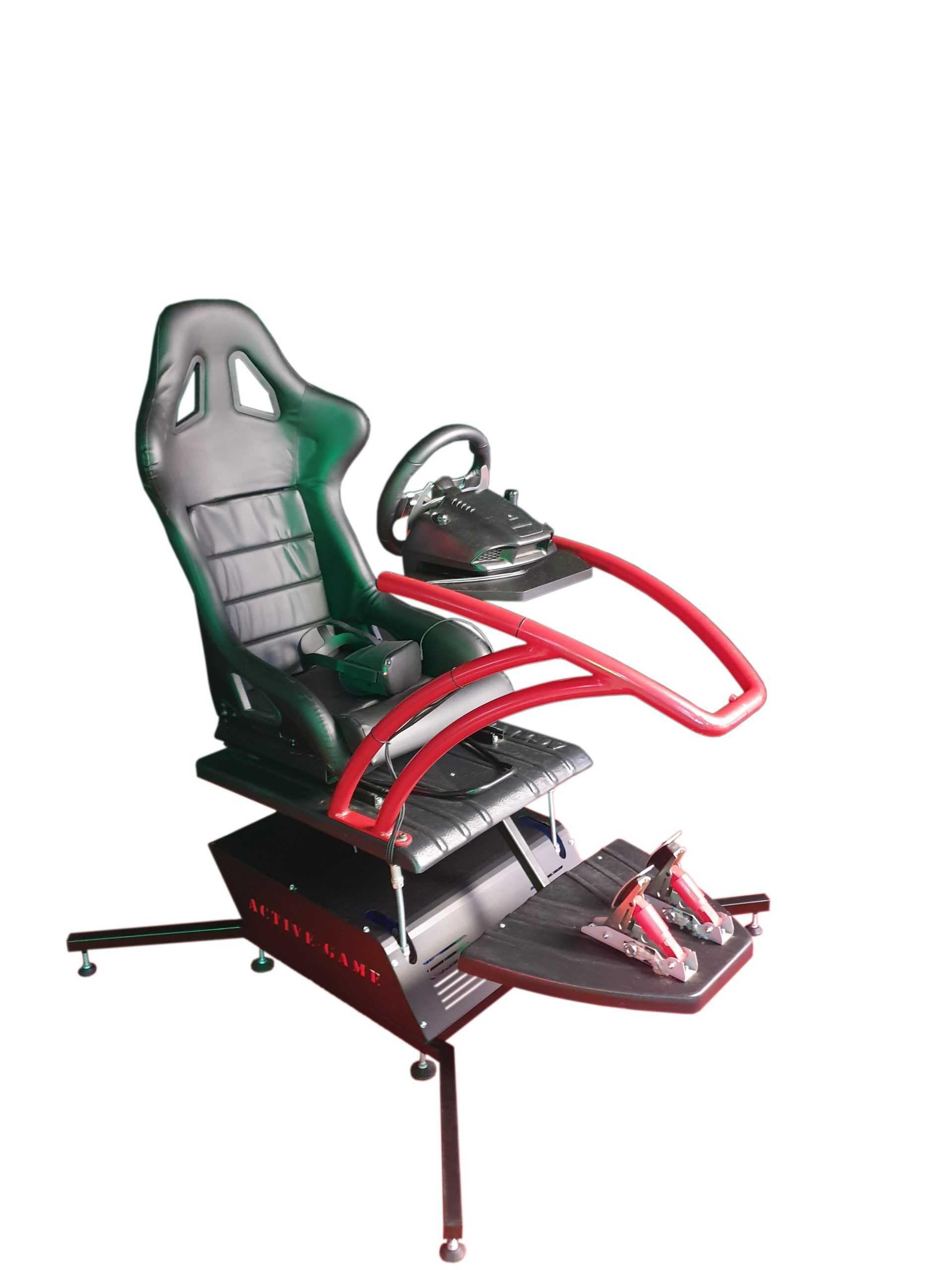 Mini_Red_2 Full motion affordable home simulator 2dof, 3dof,4dof,6dof motion platform