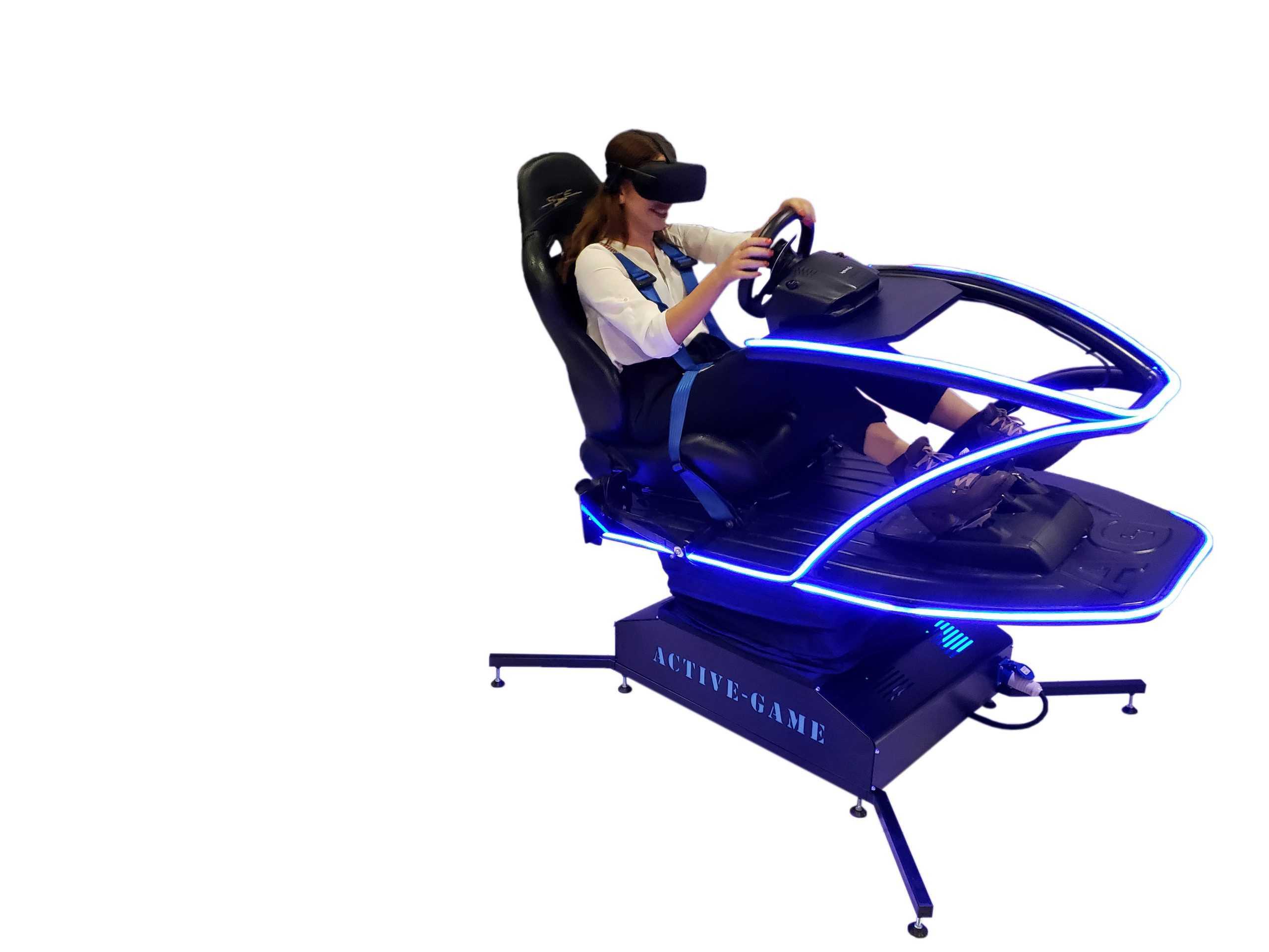 Supersim_Blue_3 Full motion flight simulator 2dof, 3dof,4dof,6dof motion platform